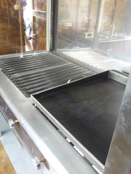 Plancha grill con campana extractor de olores y ductos - Extractor de olores ...