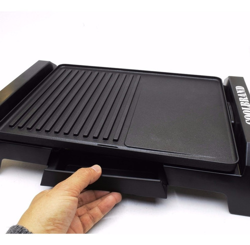 plancha grill electrico coolbrand cool 2030 teflon 1800w off