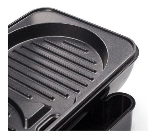 plancha hamburguesera electrica medallon grill carne 900 w