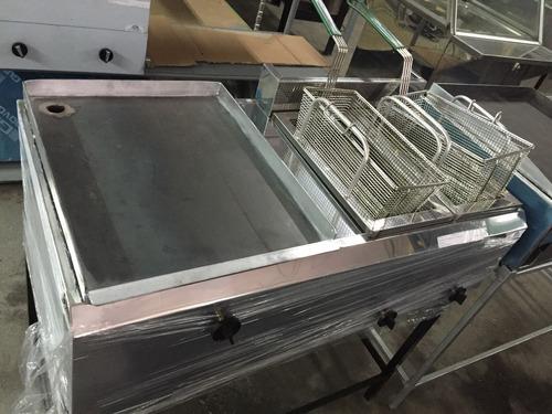 plancha industrial cocina 50x50 a gas