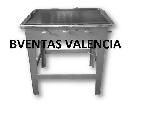 Plancha industrial grande de hierro a gas para cocina bs - Plancha industrial para cocina ...