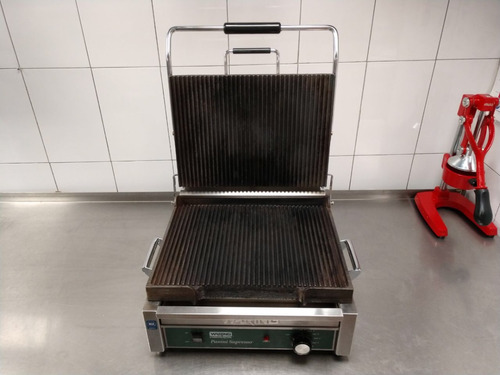 plancha industrial grill panini supremo waring commercial