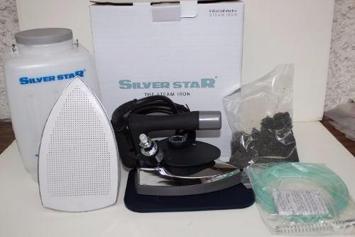 plancha industrial silver star vapor nueva con garantía