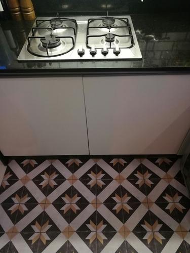 plancha lamina vinilo lisboa piso azulejos adhesivos1x0.70m
