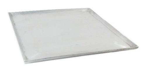 plancha lisa o parrilla en aluminio 50 x 50 cm
