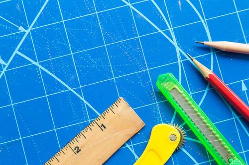 plancha o lámina de corte doble lado, manualidades, maquetas