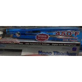 Plancha Para Cabello Nano Titanium 450f