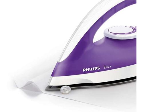 plancha philips gc122/30 1200w violeta tec a12