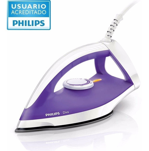plancha philips seca diva gc122 1200w base antiadherente