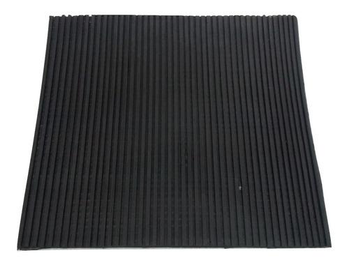 plancha placa goma antivibratoria isomode 400x400x11mm