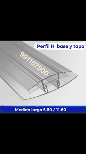 plancha policarbonato alveolar 5.80x2.10