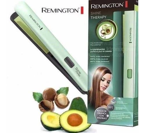 plancha remington macadamia y aguacate digital original + ob