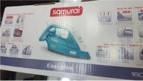plancha samurai 1600w planchado vapor prendas agua