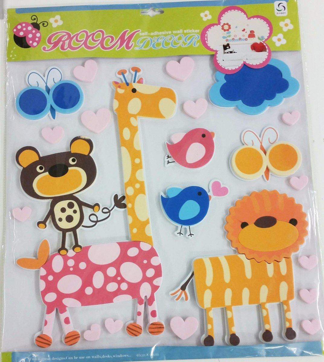 Pared infantil decoracion infantiles decoradas con - Decorar paredes infantiles con goma eva ...
