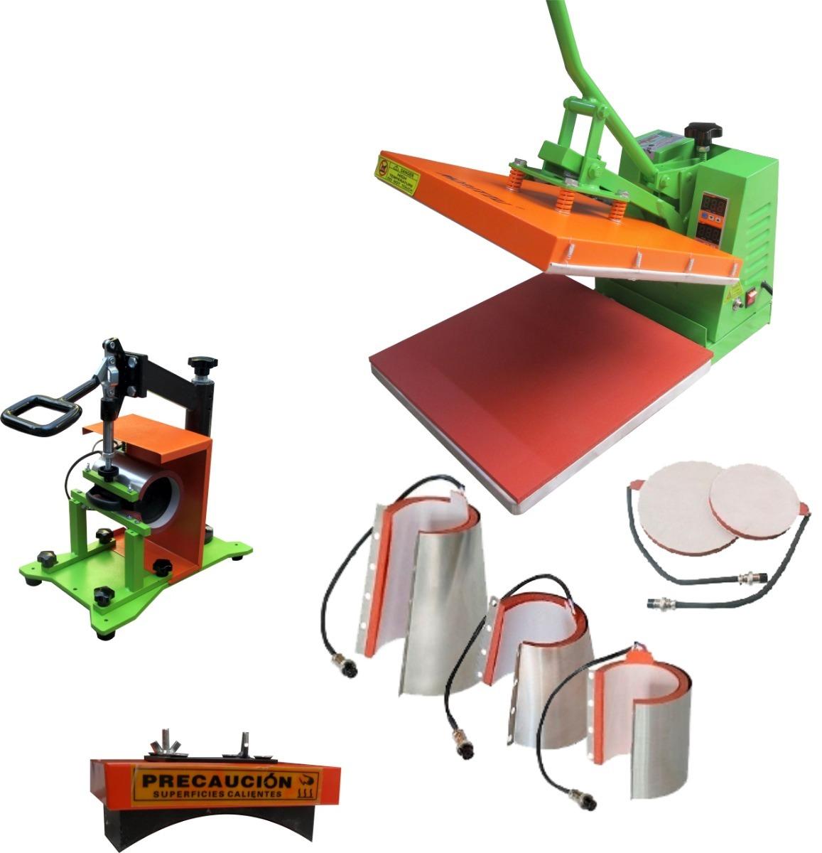 Plancha Sublimacion Industrial 8en1 Impresora