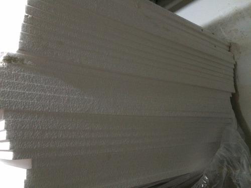 plancha tecnopor 1  x 2.40 mt x 1.20 mt densidad 10