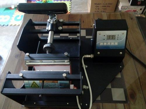 plancha térmica para tazas 4 en 1 + impresora epson l310
