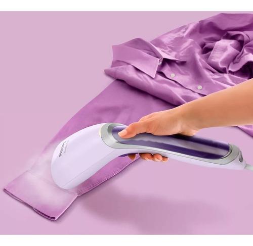 plancha vaporizador de prendas portátil philips gc360/30 new