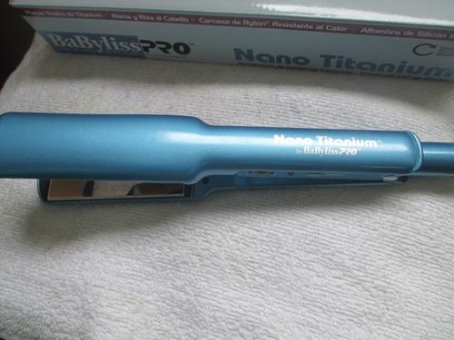 plancha/alisador de cabello babyliss pro nano titanium 1-1/2