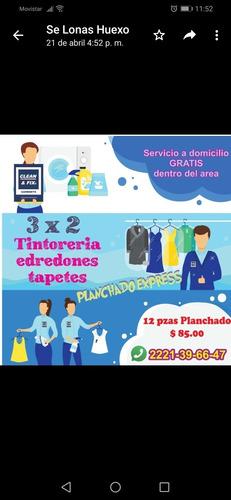 planchado, tintorería y lavandería puebla, servicio a domici