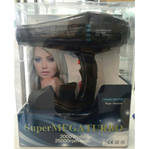 Secador De Cabello Super Mega Turbo Ionic 25.000rpm