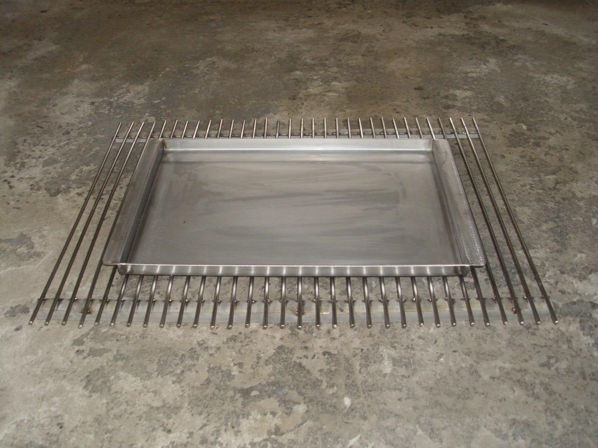 Planchas churrasqueras en acero inoxidable desde 2 mm - Planchas de acero inoxidable ...