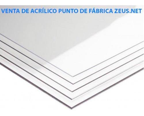 planchas de acrílico varios mm corte láser, cnc