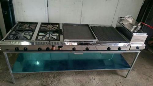 planchas de cocina y campanolas