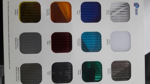 planchas de policarbonato alveolar 5.80 x 2.10 s/.299.00 6mm