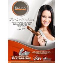 Plancha De Cabello Marca Rucha