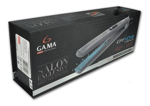 planchita de pelo gama nova titanium iht salon profesional