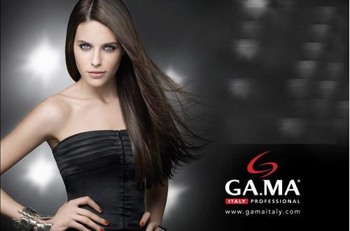 planchita gama (18) pelo ceramic ion plus laser nano silver - plancha & alisadora de cabello - garantia gama italy -