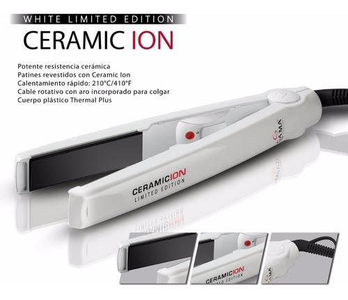 planchita gama ceramic ion cp1 blanca