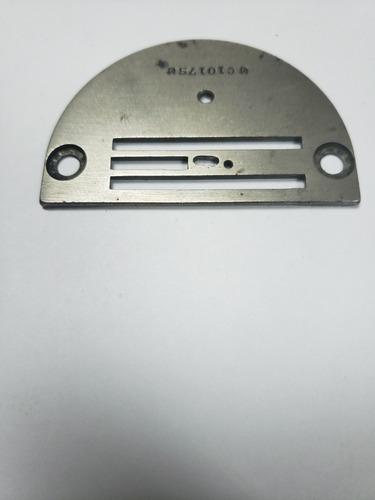 planchuela para maquina de coser recta original