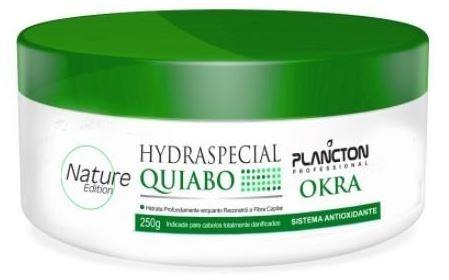 plancton máscara hydraspecial de quiabo antioxidante 250g