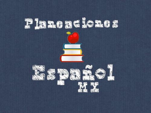 planeaciones de español 1, 2 y 3