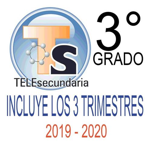 planeaciones telesecundaria tercer grado anual 2019-2020