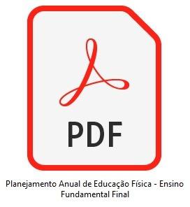 planejamento anual de educação física - fundamental ou médio
