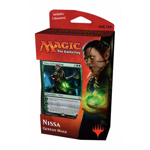 planeswalker deck magic nissa pronto para jogar - português