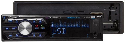 planet audio p375mb reproductor multimedia mech-less de un s
