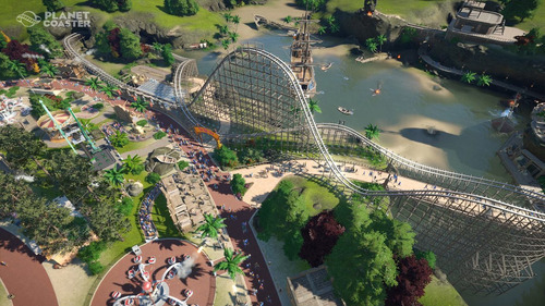 planet coaster + 3 dlcs - pc digital