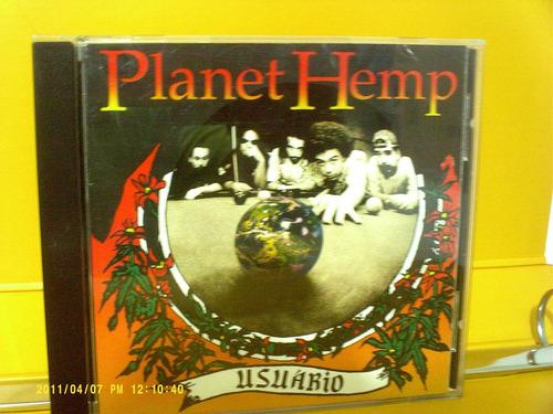 planet hemp -  usúário - cd