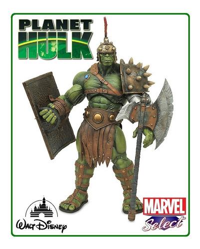planet hulk: marvel diamond select toys (disney store) 2017.