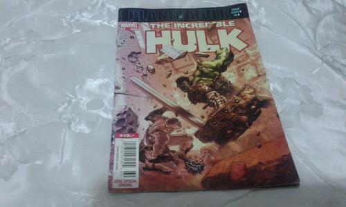 planet hulk tomo 4 marvel mexico