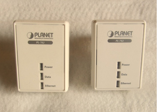planet pl-702 power line adapter  hasta 500 mbps