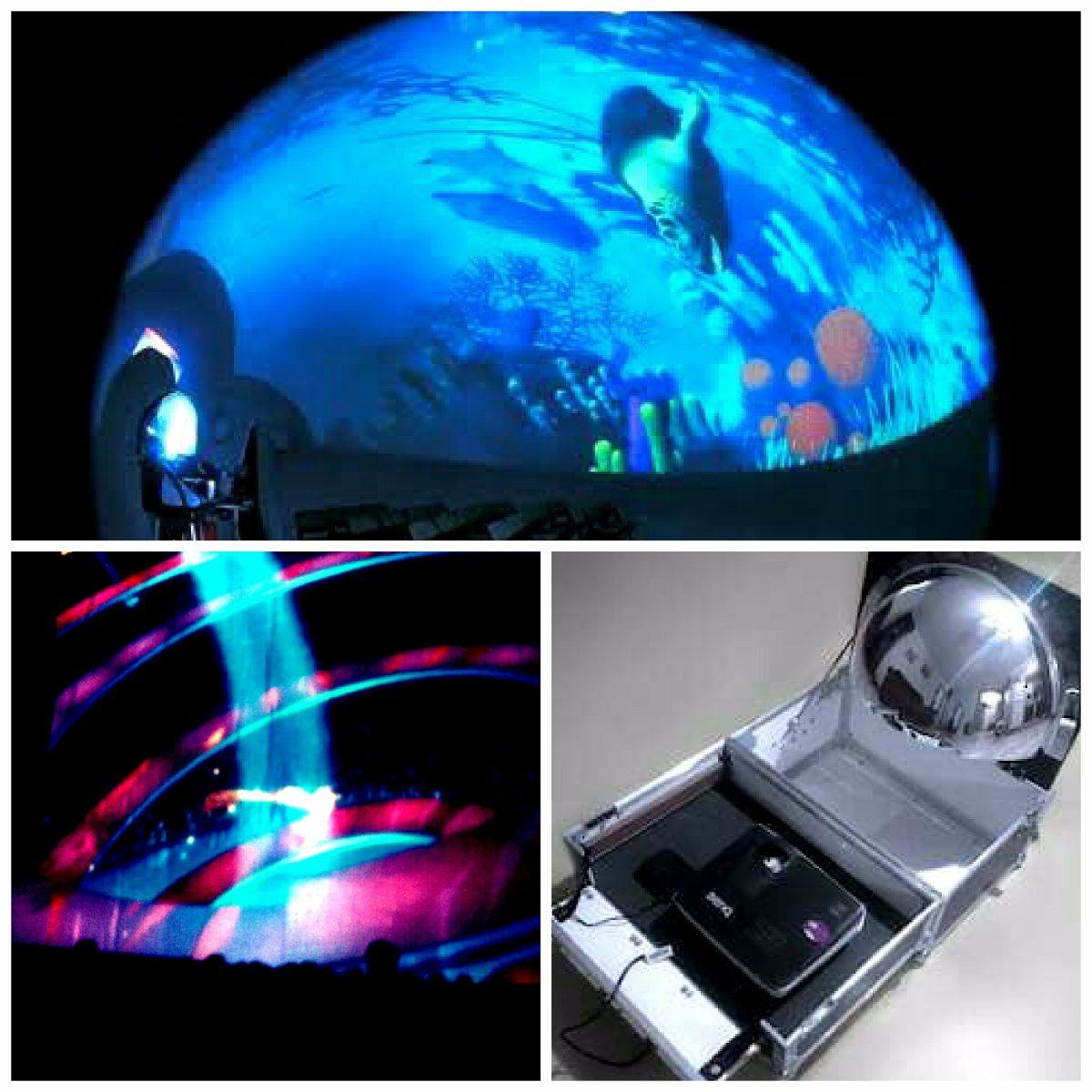 planetario movil espejo ojo de pez fulldome 2