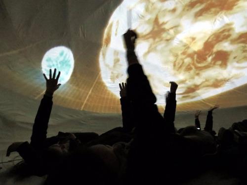 planetario móvil space movíl, con la mas alta tecnología