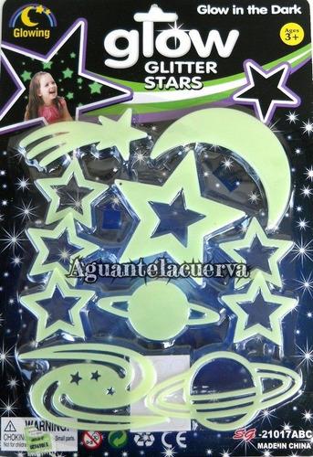 planetas estrellas fluorescentes x32 u envio gratis caba web