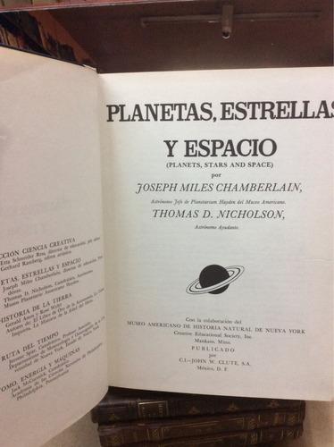 planetas, estrellas y espacio. enciclopedia científica.