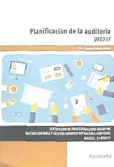 planificación de la auditoría. certificados de profesionalid